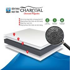 Đệm bông Charcoal 3M